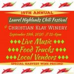 15th Annual Chili-Harvest Festival
